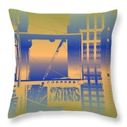 Coins Throw Pillow