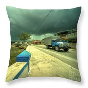 Cojimar Truck  Throw Pillow