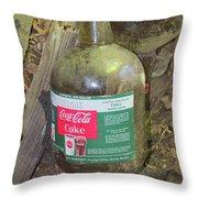 Coke Syrup Throw Pillow