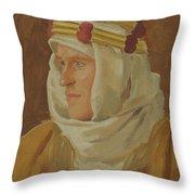 Lawrence Of Arabia - Col. Thomas Edward Lawrence Throw Pillow