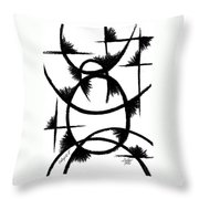 Colapse II Throw Pillow