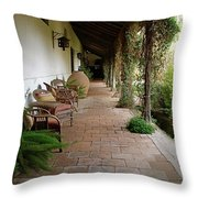 Colchagua Valley Porch Throw Pillow