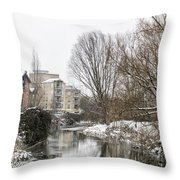 Colchester Reflections Throw Pillow