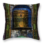 Cold Coffee Throw Pillow