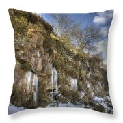 Cold Day In The Valley 5 Throw Pillow
