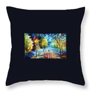 Cold Emotions Throw Pillow