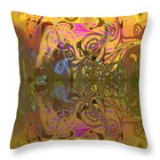 Cold Light Of Day Throw Pillow