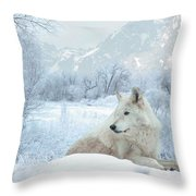 Cold Longings Throw Pillow