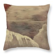 Cold Morning Throw Pillow by Gregory Dallum