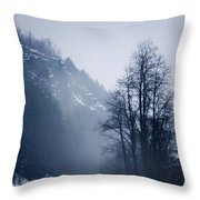 Cold Motion... Throw Pillow