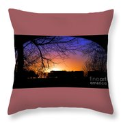 Cold Wait Throw Pillow