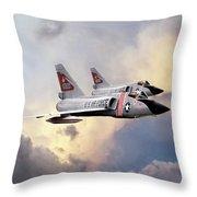 Cold War Red Bulls Throw Pillow