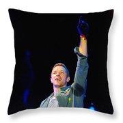 Coldplay8 Throw Pillow