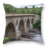 Coldstream Bridge 1807 Throw Pillow