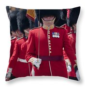 Coldstream Guards Throw Pillow