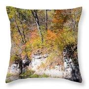 Coldwater Bluffs Throw Pillow
