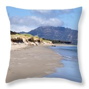 Coles Bay Serenty Throw Pillow