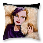 Colette Throw Pillow by Tara Hutton