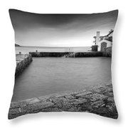 Coliemore Harbour Throw Pillow