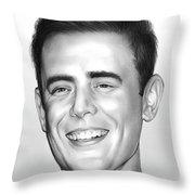 Colin Hanks Throw Pillow