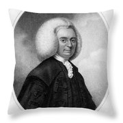 Colin Maclaurin, Scottish Mathematician Throw Pillow