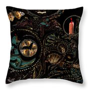 Collage Of Faith And Life Throw Pillow