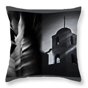 Thats How The Light Gets In Throw Pillow