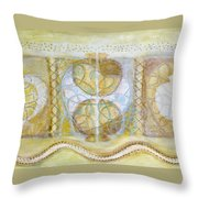 Collective Unconscious Three Equals One Equals Enlightenment Throw Pillow