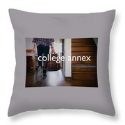 College Apartment Near Miami University Throw Pillow