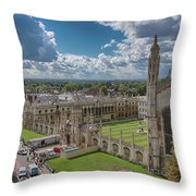 College Of Kings Throw Pillow