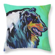 Collie Collie Throw Pillow