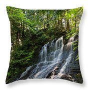 Colliery Falls Throw Pillow