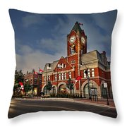 Collingwood Townhall Throw Pillow