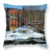 Collins Axe Factory 5 Throw Pillow