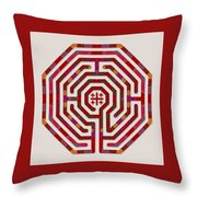 Cologne - Red Earth Throw Pillow