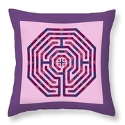 Cologne - Plums Throw Pillow
