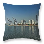 Colombia018 Throw Pillow