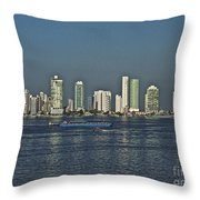 Colombia019 Throw Pillow