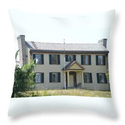 Colonel Davenport House Throw Pillow