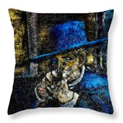 Colonel Mortimer's Shot Throw Pillow