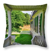 Colonial Domesticity Throw Pillow