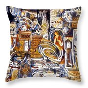 Colonial Heritage - Panel 1 Throw Pillow