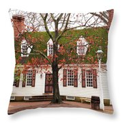 Colonial House Throw Pillow