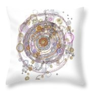 Colonization Throw Pillow
