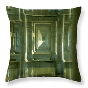 Colonnade Park Seattle Throw Pillow