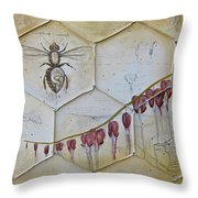 Colony Collapse Disorder Throw Pillow