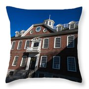 Colony House Newport Rhode Island Throw Pillow
