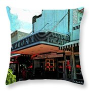 Colony Theatre Throw Pillow