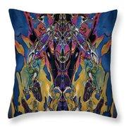 Color Abstraction Xxi Throw Pillow