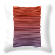 Color And Lines 3 Throw Pillow